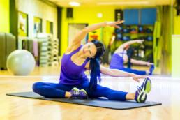 Oxana, Fitness Model Oxana, Trainerin, Kursleiterin