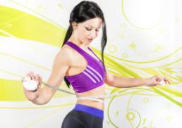 Abnehmen in Nürnberg mit Fitnesstrainerin und Fitness Model Oxana Hegel im Studio21